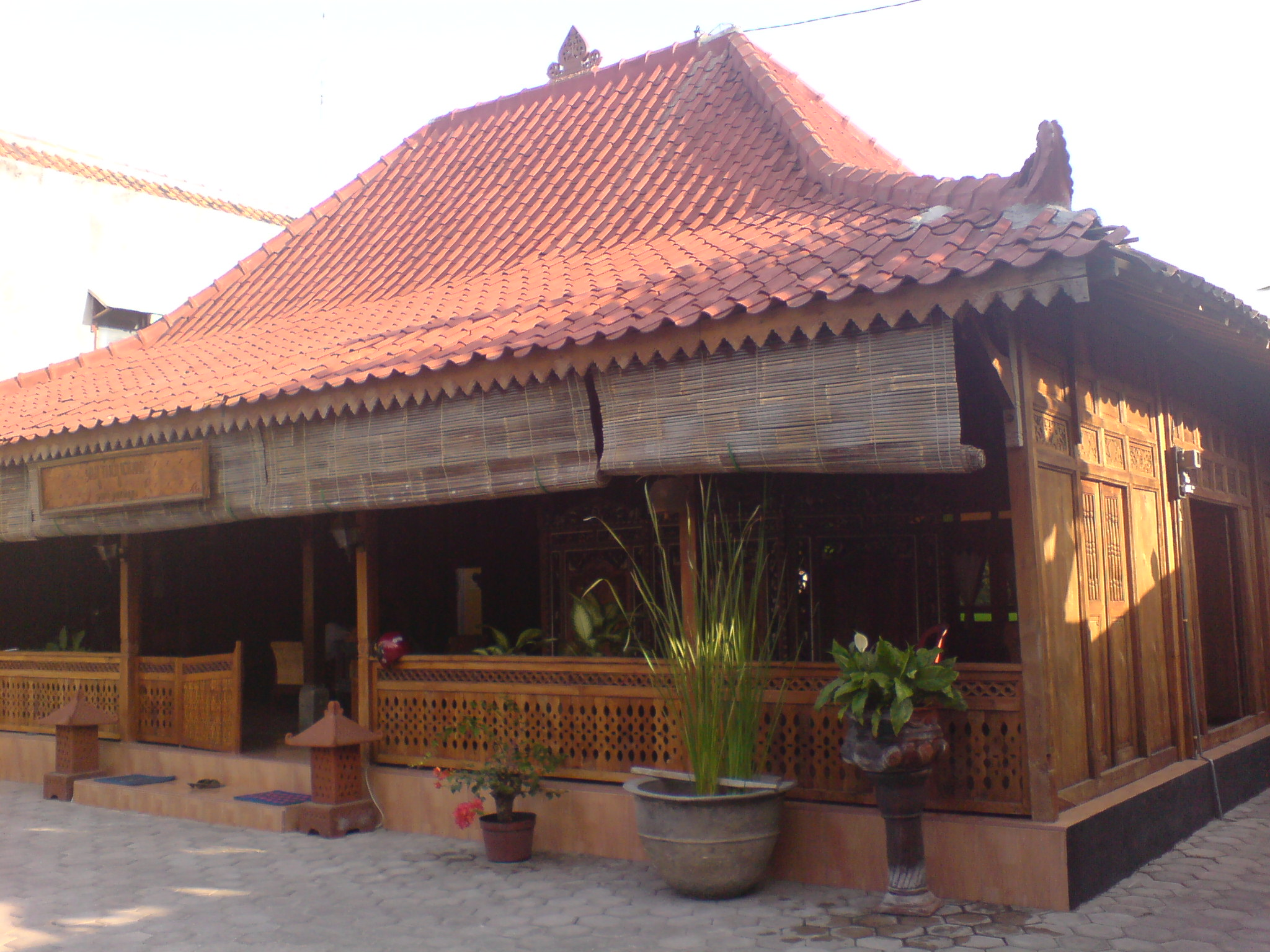 Model Rumah Jawa http://puripurboyo.wordpress.com/